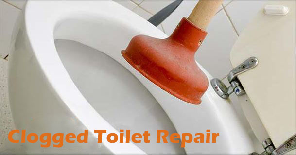 Clogged Toilet Repair