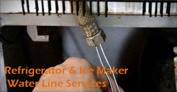 Refrigerator & Ice Maker Water Line Services
