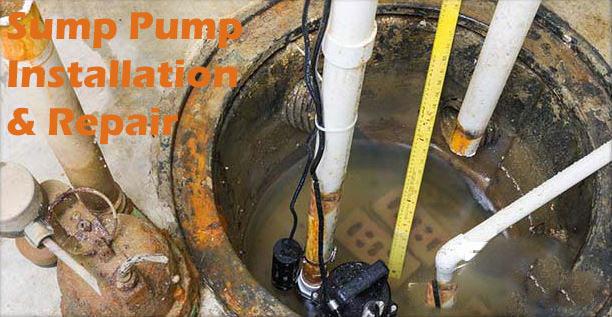 Sump Pump Installation & Repair